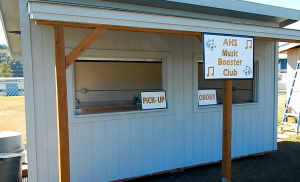 Aberdeen Music Boosters putting finishing touches on new concession stand