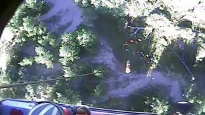 U.S. Coast Guard medevacs man from ravine near Coos Bay, OR
