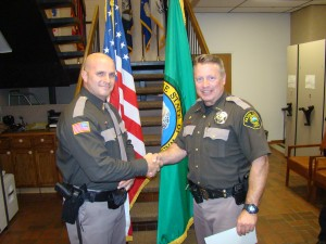 New Mason County Sheriff's Deputy takes oath of office