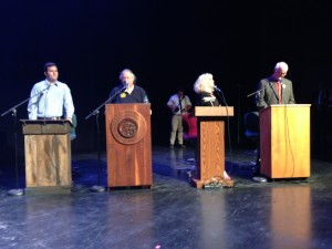 Audio: Aberdeen and Hoquiam Mayoral Debate at the D&R Theater