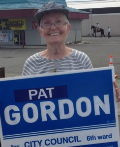 Pat Gordon – candidate for Aberdeen Council Ward 6, 4-year term