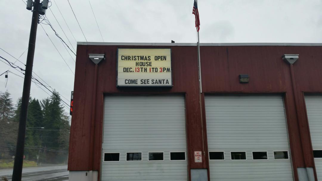 Fire District 2 Christmas Open House