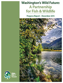 Wdfw releases 39 wild future 39 report on conservation and for Washington department of fish and wildlife