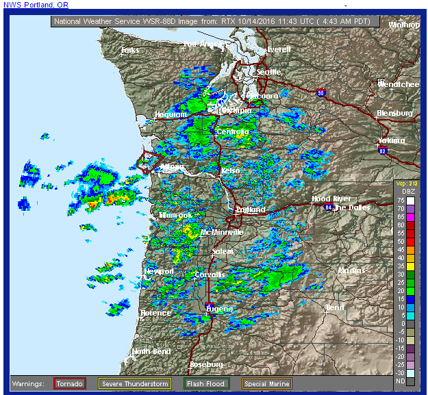 portland weather service pacific wester