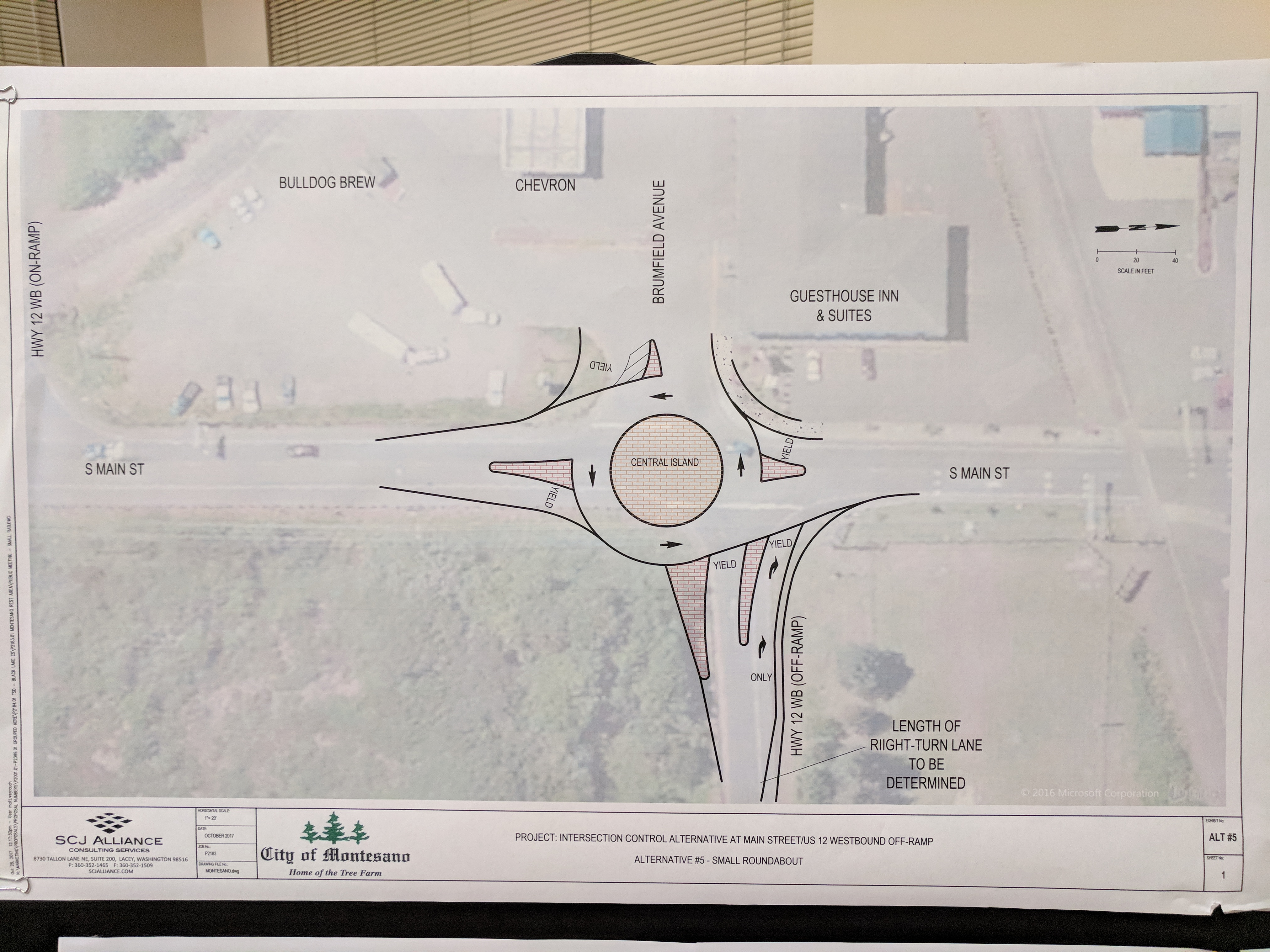 Montesano Officials Detail Proposals For Exit Ramp on South