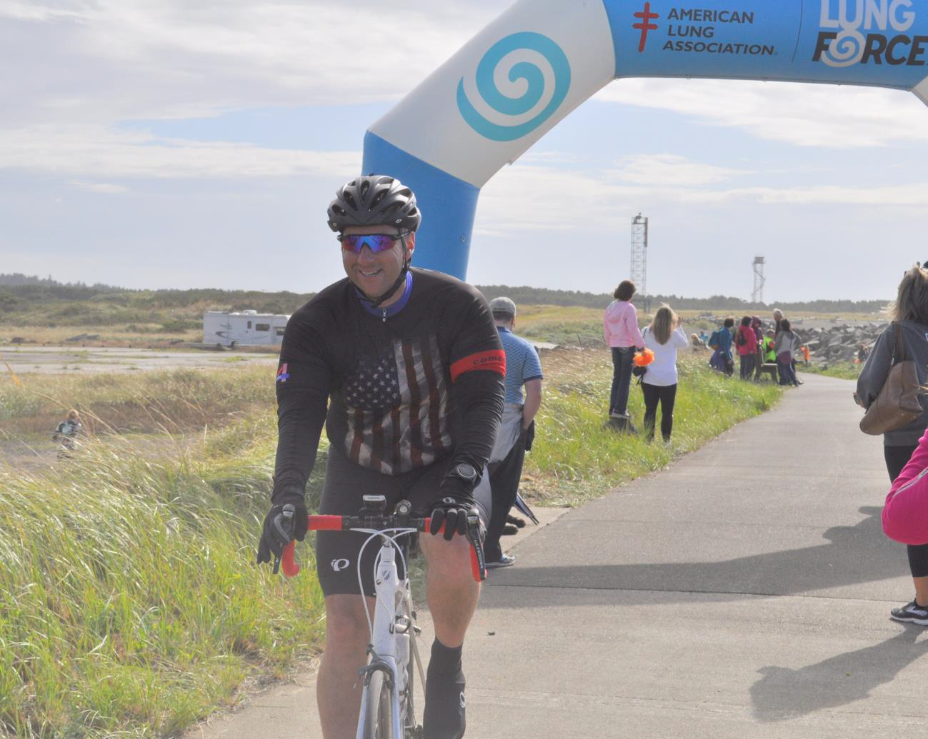 Over 800 Cyclists Participate in the American Lung Association's Inaugural Reach the Beach Washington
