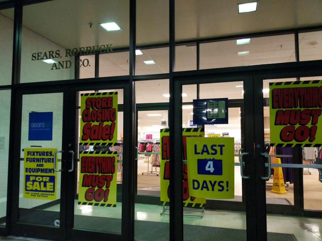 Aberdeen Sears Store Closure