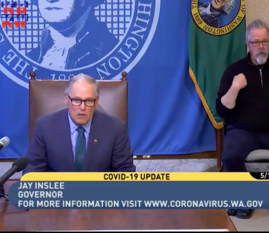 On May 1, 2020, Gov. Jay Inslee discussed the phased approach